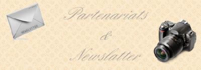 Partenariats  & Newsletter