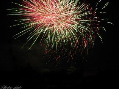 14 Juillet 2011: Les feux d'artifices
