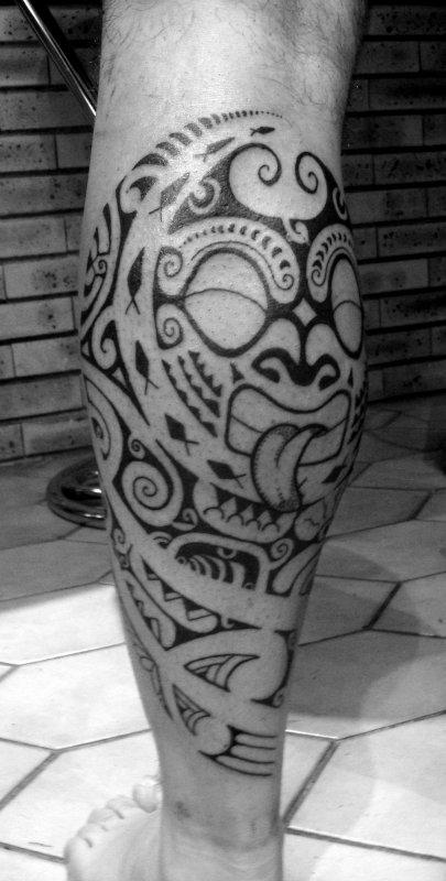 .........................Wallis Maori Tattoo........