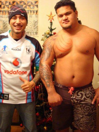 .........................Wallis Maori Tattoo........ 21.12.2008...