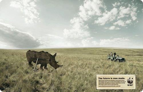 Affiche de la WWF