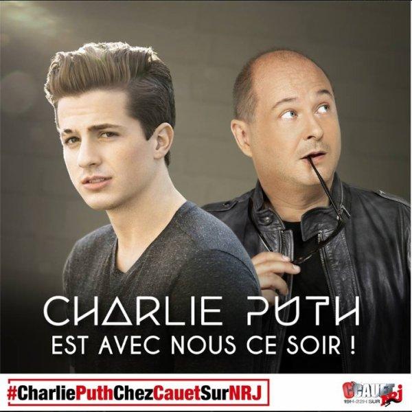 Charlie Puth chez Cauet sur NRJ le 25/09/15