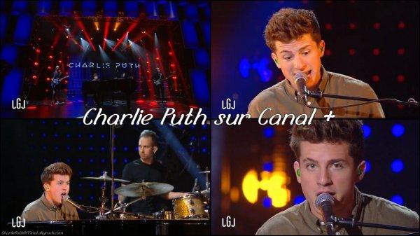 Charlie Puth dans le grand journal sur Canal +