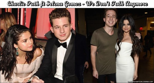 Charlie Puth ft Selena Gomez - We Don't Talk Anymore