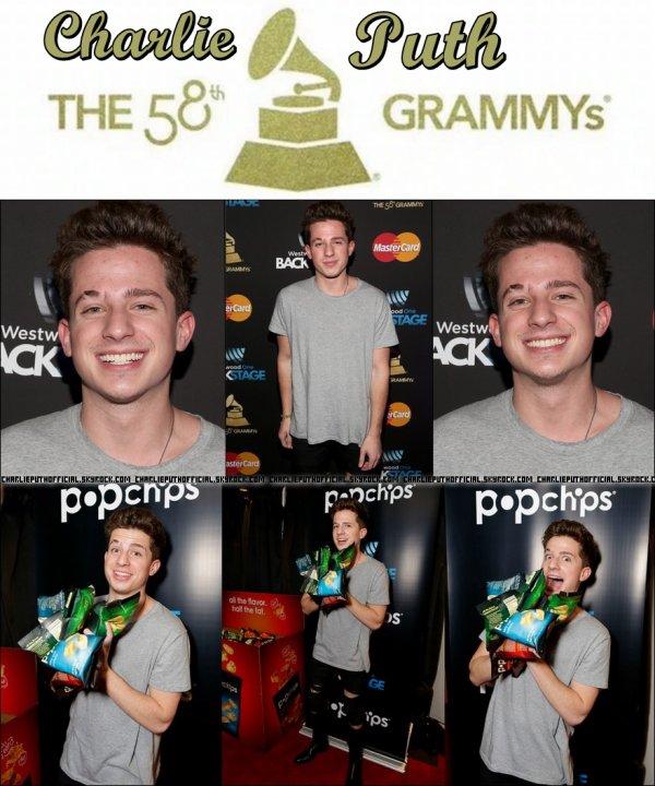 Nomination à la 58ème édition des Grammy Awards