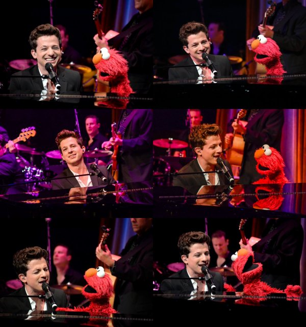 Charlie Puth au 14th annual Sesame Workshop