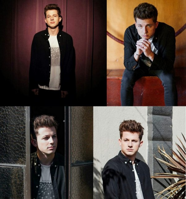 "Photoshoot de Charlie Puth pour le magasine n°38 ""Local Wolves"""