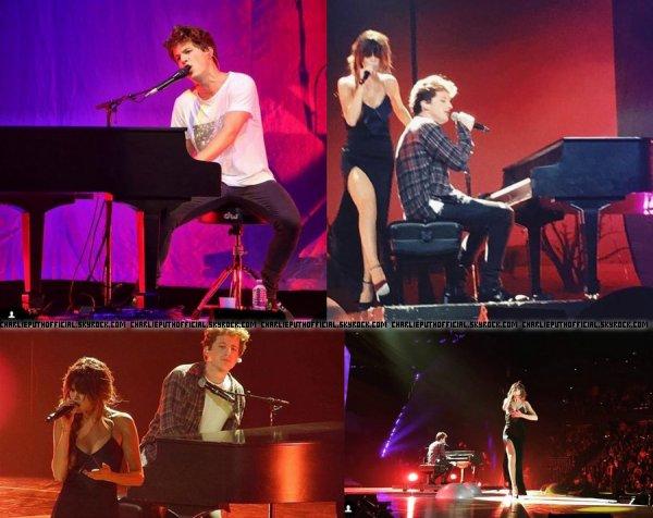 Charlie Puth invité spécial aux Revival Tour de Selena Gomez