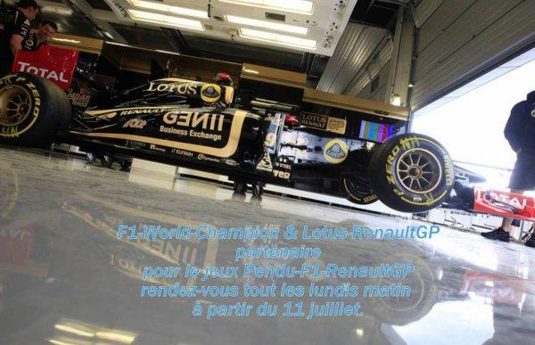 Bienvenue dans le blog Lotus-RenaultGP