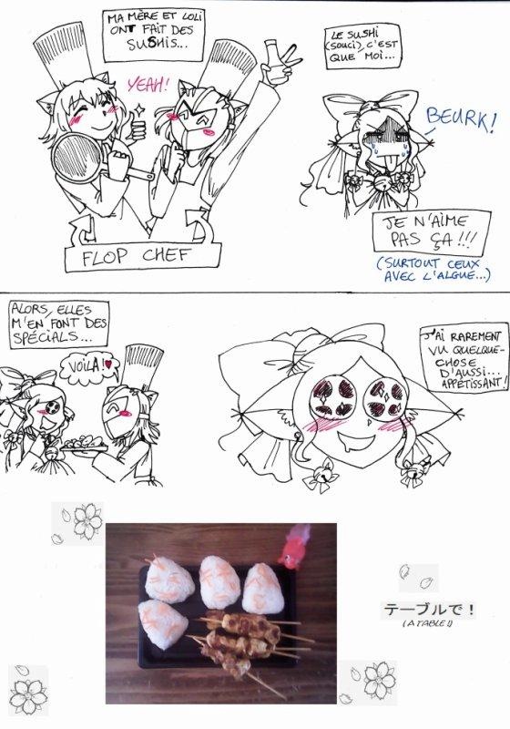 Flop Chef ou la Sushi Party !!!