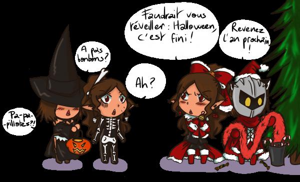 Joyeux Noël (et joyeux Halloween)
