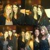 Ashley posant avec des fans, le 21 mai = )