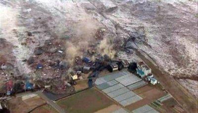 Tsunami ravageur au Japon. Un pensée pour ce pays...