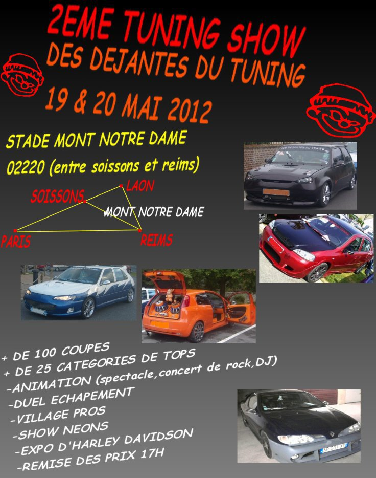 Meeting Tuning le 19 et 20 Mai 2012