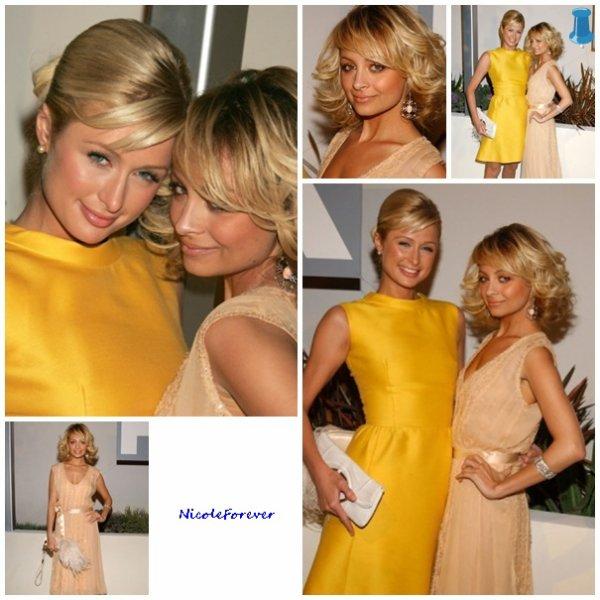 Candid du 17 Janvier 2005 - Paris et Nicole au TV Fox White Party Hot Winter Réseau