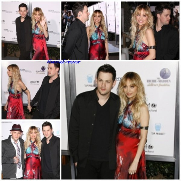 23 Mars 2009 - Nicole, Joel et Benji au gala de charité UNICEF