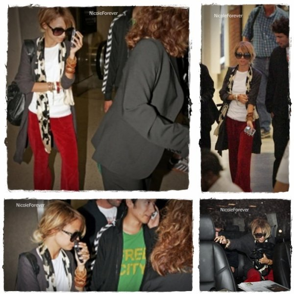 1 Septembre 2oo6  -  Arriver de Nicole à Los Angeles International Airport (LAX)