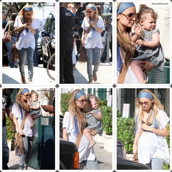 2 Juin 2009 - Nicole et Harlow aperçu faisant du shopping dans Los Angeles.