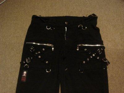 pantalon living dead souls - vendu