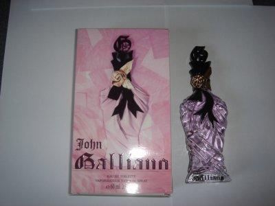 parfum john galliano 60ml - vendu