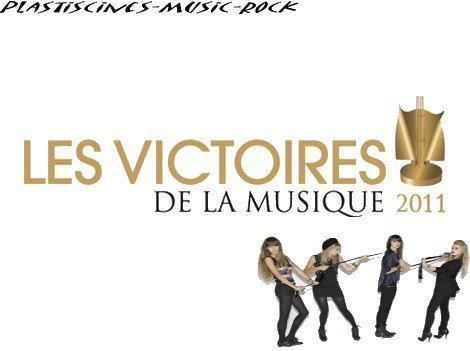 Victoires De La Musique avec les Plastiscines