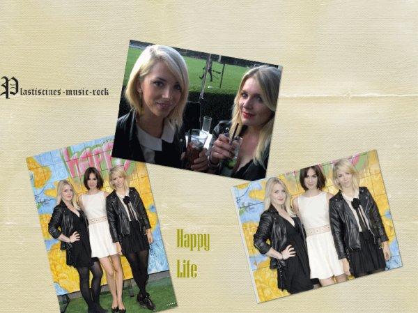 19/05/11 : Les filles au lancement du nouveau magazine Happy Life