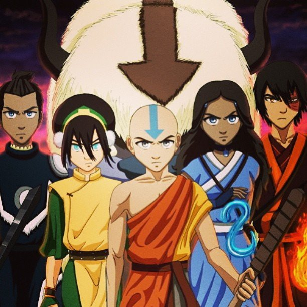 Avatar dernier m itre de l 39 air manga dessin anime serie - Cree ton avatar et decore ton apparte ...
