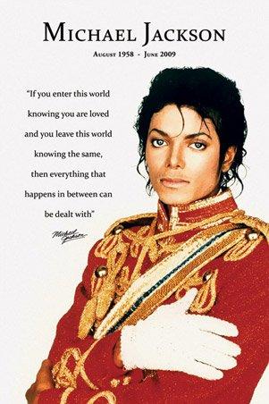 Voici mon poster de Michael