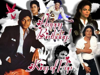 Happy Birthdayy' King of Pop <3