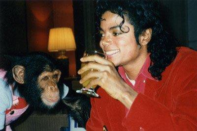 Michael & Bubbles ♥