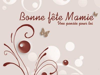 Bonne Fête Mamie, tu me manque de ouf ! Bisous Volant