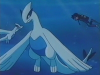 L'apparition de Silver, le bébé Lugia dans l'animé