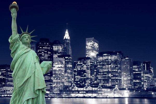 [ De retour aux Experts Manhattan avec cette belle photo im -> Amérique Ville Nuit