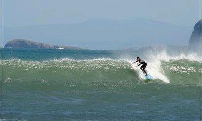 LAREDO ET LE SURF...