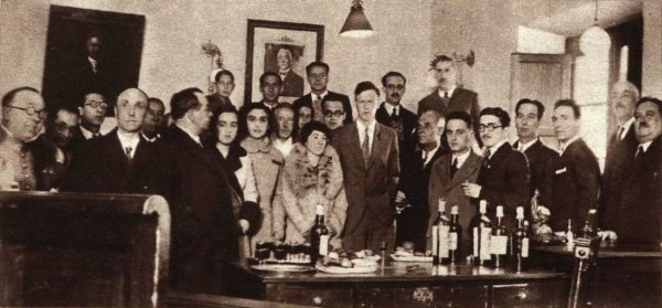 L'ALBATROS A SANTONA, en 1933