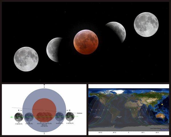 SAMEDI 10 DECEMBRE la Lune se lèvera partiellement éclipsé...