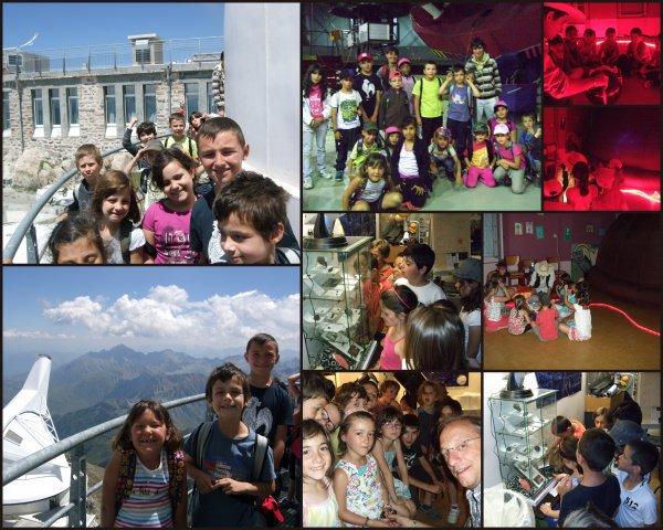 ANIMATIONS ETE 2012 du Club au Centre Aéré de Lourdes et au Pic du Midi... retour en images