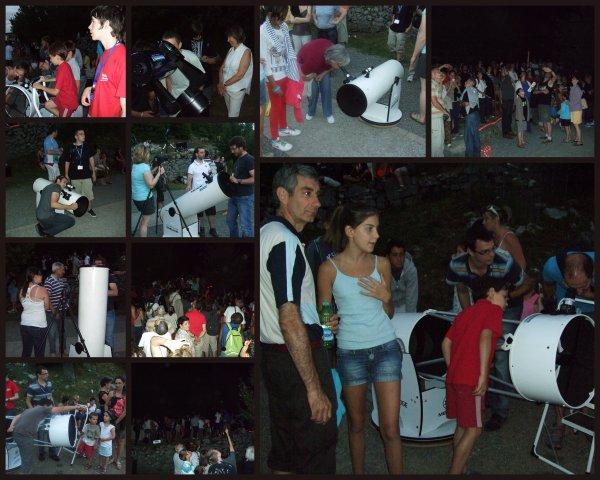 NUIT DES ETOILES 2012 retour en images...