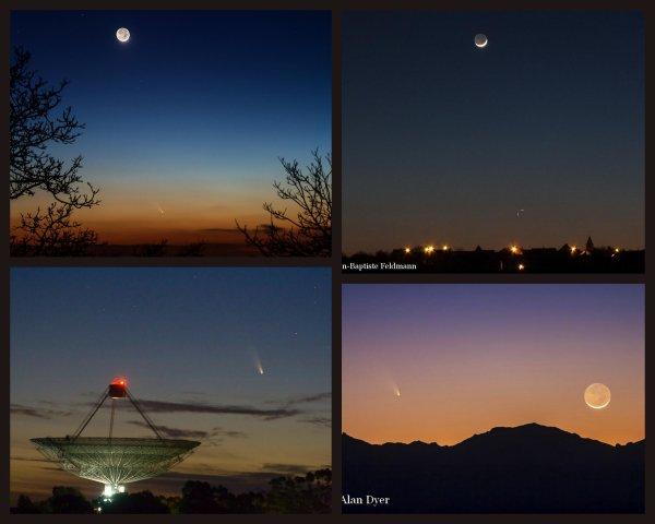 DES IMAGES de la comète PANSTARRS - MARS 2013 -