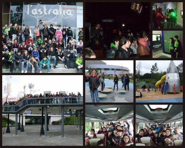CITE DE L'ESPACE 3 MAI 2013 avec les 6° et 5° du Club... Images
