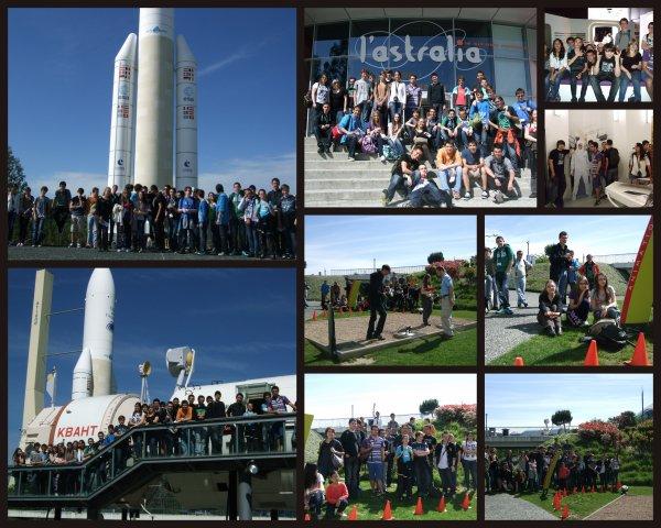 CITE DE L'ESPACE 8 MAI 2013 avec les 4°-3° les Lycéens et adultes du Club... Images