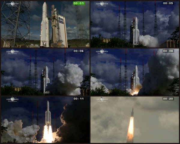 NOUVEAU SUCCES POUR ARIANE V ce jeudi 25 Juillet 2013, avec la mis en orbite d'ALPHASAT le plus gros satellite de télécommunications européen jamais construit !