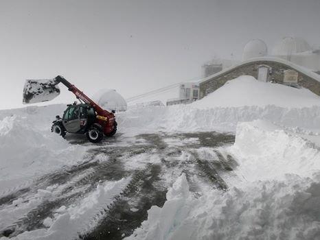 De la neige au Pic du Midi !!!
