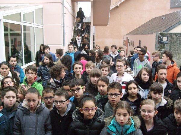 ECLIPSE PARTIELLE DE SOLEIL du 20 MARS 2015... Retour en images depuis le lycée Peyramale