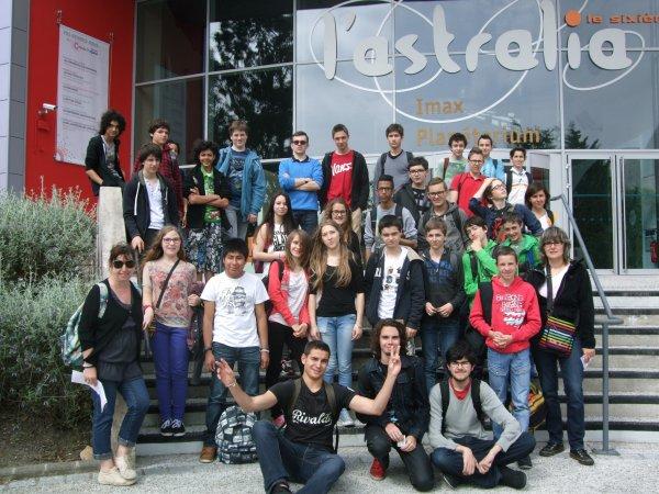 MAI 2015 : LES JEUNES DE L'ASTRO CLUB LOURDAIS à la Cité de l'Espace de Toulouse... en images !