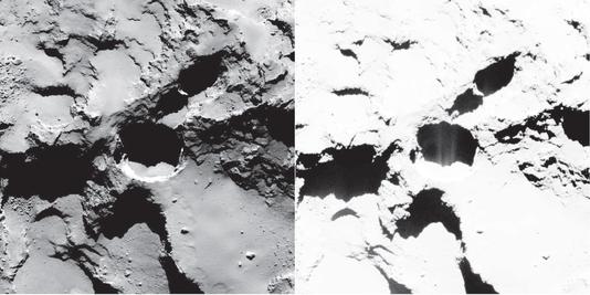 ROSETTA INFO DIRECT : JEUDI 2 JUILLET 9h30 ÉTONNANTE ACTIVITÉ de la comète 67P/Churyumov–Gerasimenko : ROSETTA a trouvé les racines de la chevelure de « Tchouri » !!