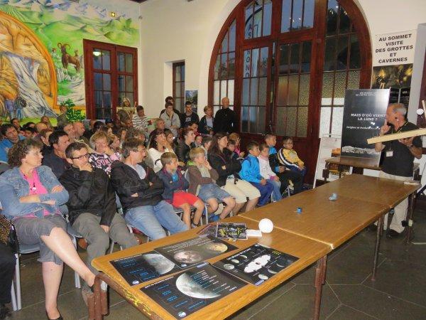 NUIT DES ÉTOILES à Lourdes en images... les conférences :