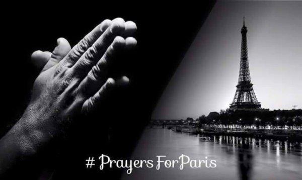 Nous avons pleuré... Nous avons mis un genou à terre... Et nous continuons à être solidaire de toutes les victimes et de leurs proches de ce 13 novembre... Nous continuerons à prier pour un monde plus juste, plus vrai, plus solidaire...ensemble ! LIBERTÉ, ÉGALITÉ, FRATERNITÉ !!