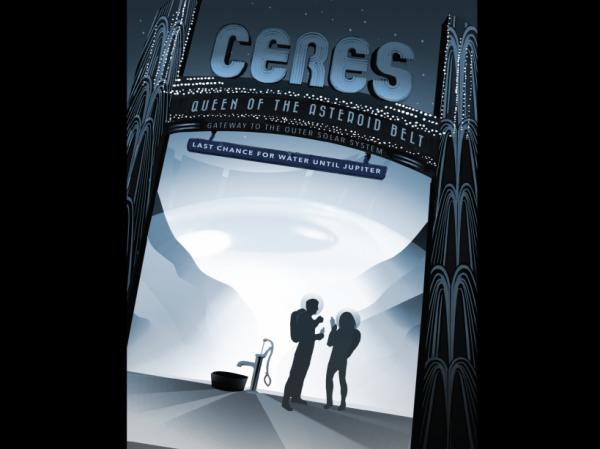 LES IMAGES DU JOUR : Ces affiches de la NASA vont vous faire aimer le tourisme spatial ! Le Jet Propulsion Laboratory (JPL) de la NASA a mis en ligne une série de poster d'anticipation évoquant le tourisme spatial du futur, quand planètes et astres lointain pourront être visités par l'humanité. Une série qui commence par un hommage aux sondes Voyager qui ont exploré le système solaire avant de le quitter. (Sources NASA-SA)
