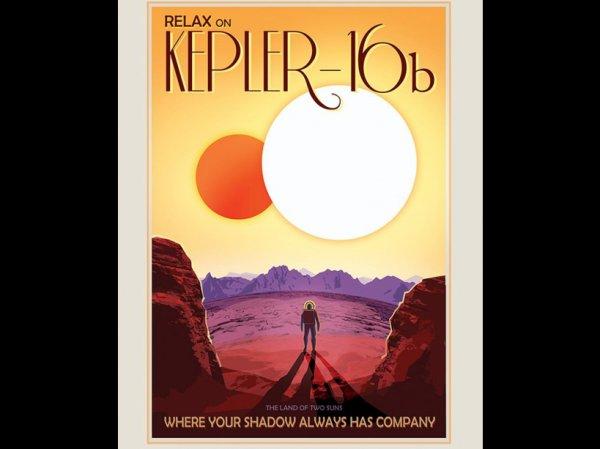 LES IMAGES DU JOUR : Ces affiches de la NASA vont vous faire aimer le tourisme spatial ! Suite